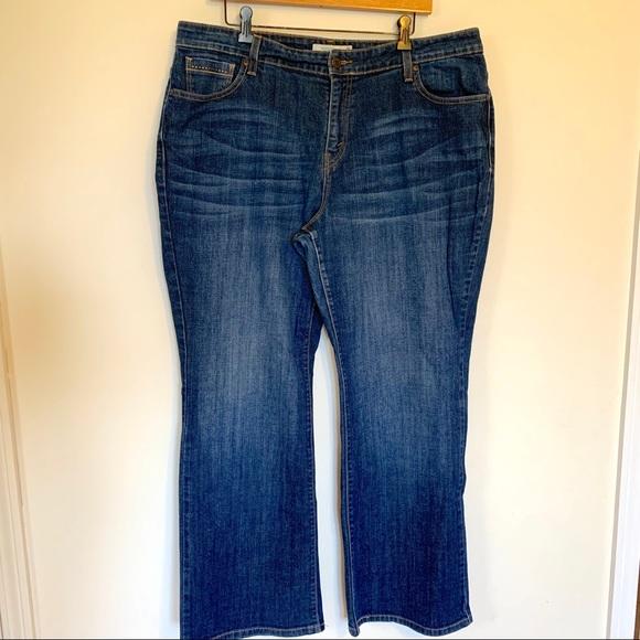 89d736c49d4 Levi s Denim - Levi s 580 Boot Cut Jeans Plus Size 20